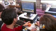 """New Milford High School's library is home to a brand new """"Makerspace"""" that even…"""