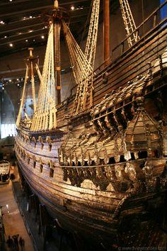 Vasa Museum, Stockholm.