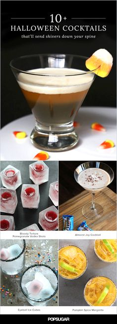 Who needs a bucketful of candy when you can enjoy a sip of a delicious Halloween cocktail? These spooky, sweet, and sinful concoctions are no trick and all treat and will start off your All Hallows' Eve extravaganza on the right note.