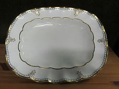 Royal Crown Derby LOMBARDY Serving Platter