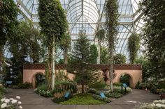 Enid A. Haupt Conservatory in Bronx, NY