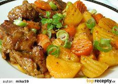 Pork, Foods, Ethnic Recipes, Sweet, Kale Stir Fry, Food Food, Candy, Food Items, Pork Chops