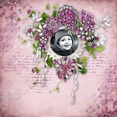 """Sweet-Chick Scrap and Co My page with """"Luxury"""" by Bee Création"""