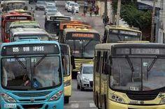 Os ônibus vão parar hoje e vão circular a partir de 16h por conta da manifestação do Presidente Michel Temer