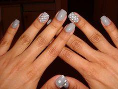Grey Nail Designs 12