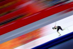 Nao Kodaira of Japan competes during the Women's Speed Skating event on day 6 of the Sochi 2014 Winter Olympics at Adler Arena Skating Center on February 2014 in Sochi, Russia. Winter Olympics, Light And Shadow, Skate, Japan, Russia, Pictures, February 13, Sports, Photography