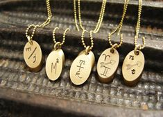 Initial necklace Personalized jewelry couple by soradesigns