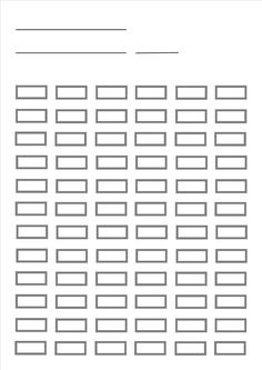 blank pencil chart for up to 72 pencils prints a4 size designed by bruce - Blank Pictures To Colour