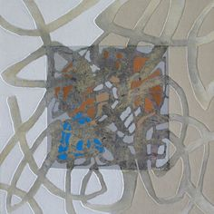 One of the foremost Hanji artists working internationally is Kitty Jun-Im. Her ʻpaintings' are made up of layers of Hanji collaged to create depth, space and tactile textures. They form an impression of calligraphic choreography clearly influenced by her musical background. Jun-Im is based in the UK