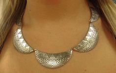 Tribal collar pieces