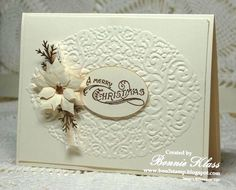Merry Monday Vanilla Suede by bon2stamp - Cards and Paper Crafts at Splitcoaststampers
