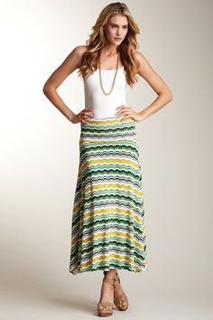 Lilly Foldover Maxi Skirt. Would be pretty for Easter.
