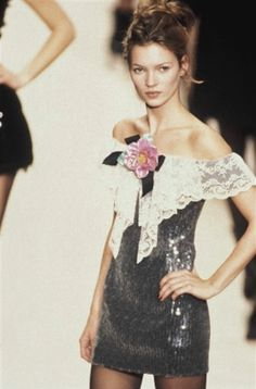 Kate Moss at Chanel RTW 1993