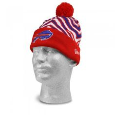 The days of boring hats are over! Add some zany style to your Buffalo Bills gear with this Zubaz biggie knit hat inspired by pop culture's instantly popular brand Zubaz! They feature a Bills zebra print over a solid knit cuff, with an embroidered logo. So throw it on top off your outfit at the next big game and let that funky look illuminate your team spirit for all to see!