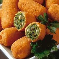 Croquetas de espinacas   #Recetas de cocina   #Veganas - Vegetarianas ecoagricultor.com