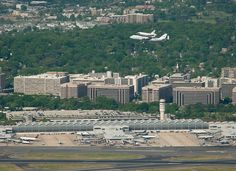 Shuttle Discovery Reagan Airport Fly-Over (201204170041HQ) by nasa hq photo, via Flickr