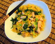 Thai Pasta mit Lachs und Kokosmilch - Katha-kocht!