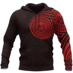 Polynesian Hoodie - Polynesian Flowers Tattoo Style Hoodie A7 1ST – Polynesian Print Flower Tattoos, Hand Tattoos, Polynesian Designs, Print Design, Men Sweater, Just For You, Hoodies, Fabric, Flowers