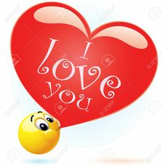 Smiley I love you Smiley Emoji, Smiley T Shirt, Smiley Faces, Funny Emoji Faces, Funny Emoticons, Smileys, Love Smiley, Emoji Love, Bisous Gif