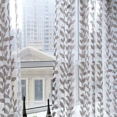 Hot Sales Door Window Scarf Sheer Leaves Printed Curtain Drape Panel Tulle Voile Valances #Affiliate