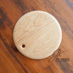 Round Cherry Wood Cutting Boards