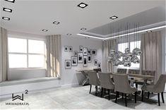 Projekt jadalni w domku jednorodzinnym Conference Room, Table, Furniture, Home Decor, Decoration Home, Room Decor, Tables, Home Furnishings, Home Interior Design