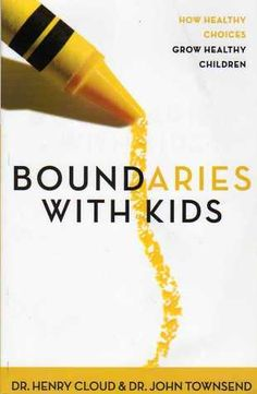 I have been hearing a lot of raves about this book. The book discusses how to set healthy boundaries with kids; when to say yes and when to say no for them to gain control of their lives when the right time comes.