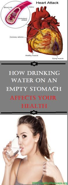 Why Drinking Water on an Empty Stomach Is Good for Your Health