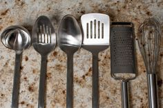 Your clients will feel like a gourmet chef with these utensils.