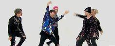 """""""Weekly Idol"""" random play dance w/ GD's """"Crooked"""" ㅋㅋㅋ #BIGBANG # Weekly Idol #RandomPlay"""