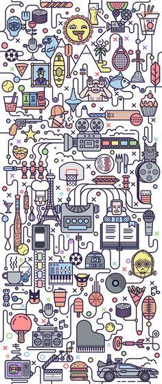 Área Visual - Blog de Arte y Diseño: Los diseños e ilustraciones de Fabricio Rosa Marques