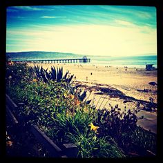 #la #california #cali #summer #manhattanbeach #losangeles #beach #pier #fall #colorful #photography #photo #pretty