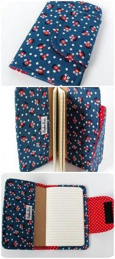 Velcro notebook cover