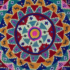 Peacock Pavilions in #Marrakech - detail of Moroccan basket M.Montague #tribalchic