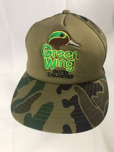 Details about The House Boardshop Green Mesh Snapback Trucker Hat Baseball  Cap Vintage Retro 004d1b7ad28f