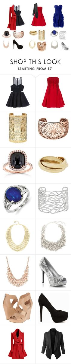 """""""fds"""" by noonebutpineapple1300 on Polyvore featuring Bebe, Notte by Marchesa, Forever 21, Links of London, Kobelli, Kevin Jewelers, BCBGMAXAZRIA, Saachi, Charter Club and Jessica Simpson"""