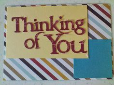 Colorful, Creative Cards: Thinking of You