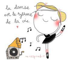 La danse | misspink.es