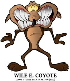 25 Looney of Christmas 2 - Wile E Coyote by BoscoloAndrea