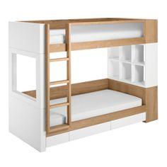 Duet Bunk Bed Spielzimmer Kinderzimmer, Kinderzimmer Junge, Schlafzimmer,  Hochbett Weiss, Doppelbett,