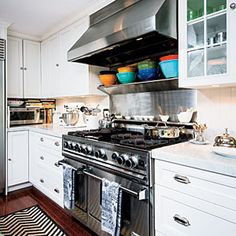 Kitchen Redo: Family Fun and Function | Hardwood Floors for High-Traffic Areas | CookingLight.com