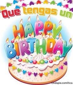 36 best birthdaycumpleanos images on pinterest happy birthday spanish happy birthday m4hsunfo