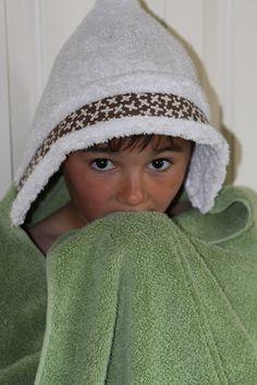 Every Kid Needs a Hoodie: Hoodie towel tutorial