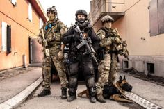 Norwegian special forces training with the norwegian police delta team