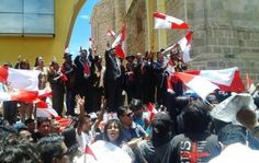 Potosí: Vicepresidente abandona desfile cívico ante la presencia de miembros de Comcipo | Radio Panamericana