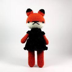 little miss mabel wearing a very stylish little black dress .. by rosieok, $35.00