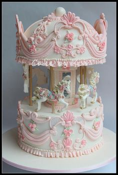 carousel cake | by cake by kim