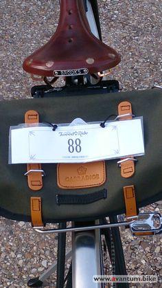 Alforja SaddleBag de #Carradice modelo Barley en la #Tweedridemadrid 2015