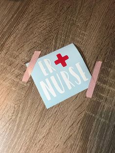 Custom ER / MICU / SICU Nurse Vinyl Decal Sticker Scroll in  Www.etsy.com/shop/confetticustoms Emergency room nurse, ICU Nurse  Medical decals  Nurse decal for cars, cups, coffee mugs or just about anything you can think of.