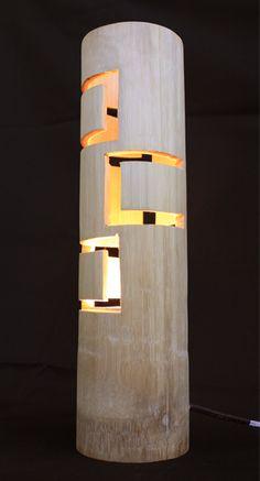 Bamboo lamp                                                       …